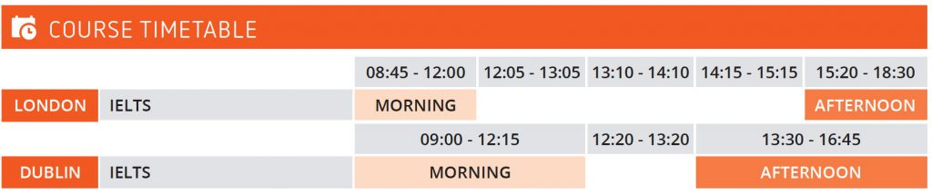 IELTS-Exam-Prep-timetable