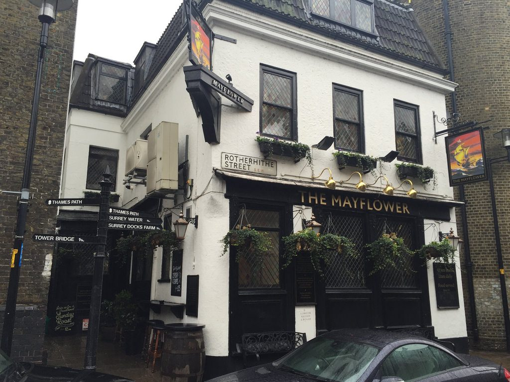 Mayflower Pub in Rotherhithe